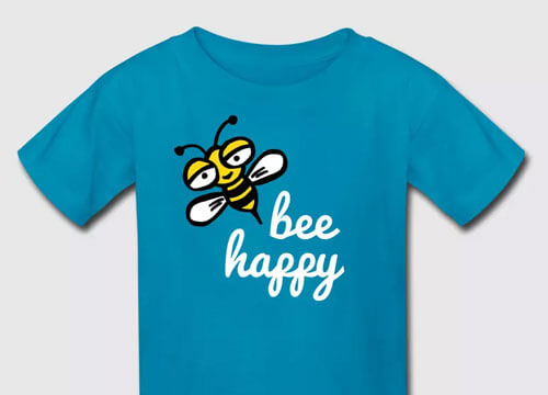 Happy bee - Spreadshirt.com BranBran