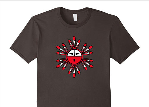 Hopi Kachina Sun Symbol - Amazon Merch BranBran