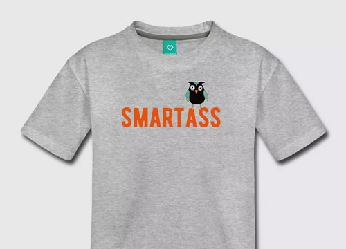 Smart collage owl - Spreadshirt.com BranBran
